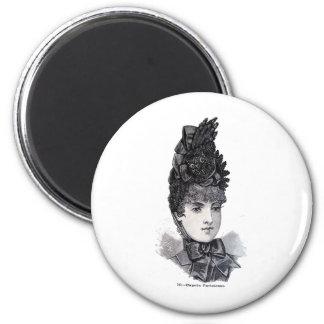 """""""Parisiense"""" 2 Inch Round Magnet"""