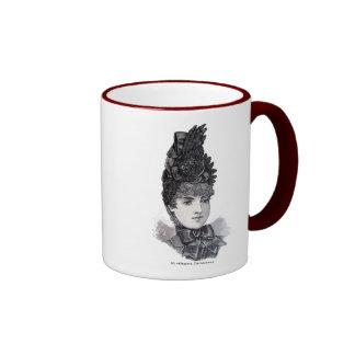 """""""Parisiense"""" Ringer Mug"""