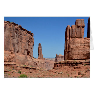Park Avenue, Arches National Park Card