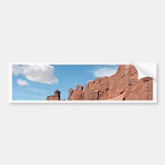 Park Avenue, Arches National Park, Utah Bumper Sticker