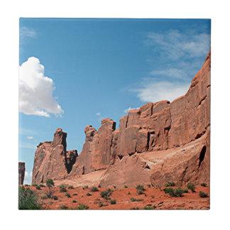Park Avenue, Arches National Park, Utah Ceramic Tiles