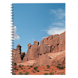 Park Avenue, Arches National Park, Utah Spiral Notebook