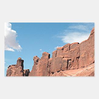 Park Avenue, Arches National Park, Utah Sticker