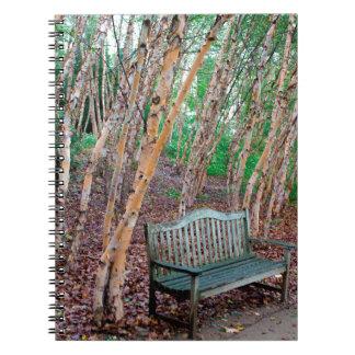 Park Bench 1 Spiral Notebook