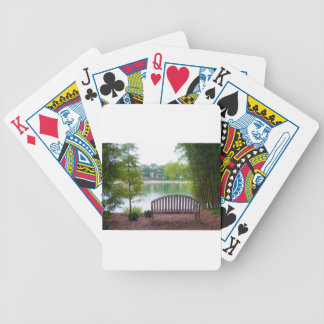 Park Bench 2 Bicycle Playing Cards