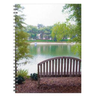 Park Bench 2 Spiral Notebook