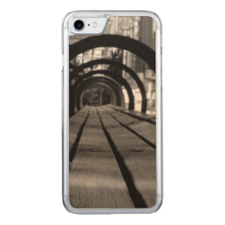 Park bench carved iPhone 8/7 case