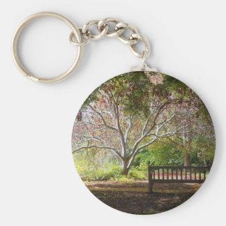 Park bench keychain
