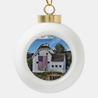 Park City Barn Ornament