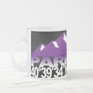 Park City Mountain GPS Violet Mug