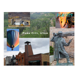Park City Utah Souvenier Postcard