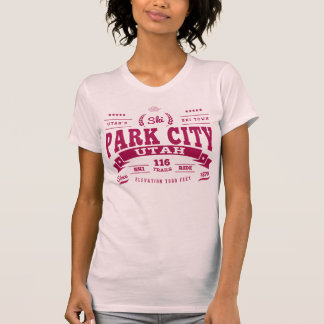 Park City Vintage Cranberry T-Shirt