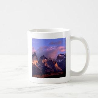 Park Cuernos Del Paine Andes Ains Chile Coffee Mug