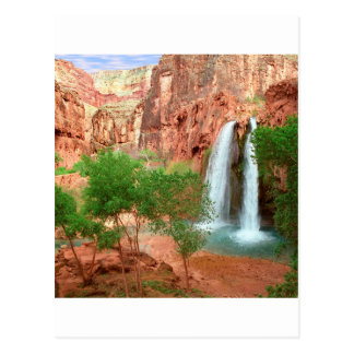 Park Dreamland Havasu Falls Grand Canyon Postcard