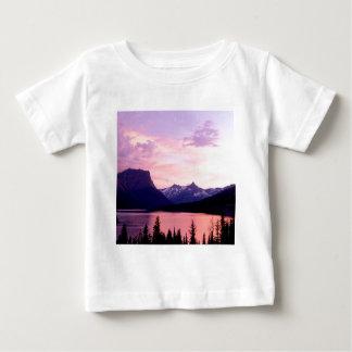 Park Glacier At Sunset Montana Baby T-Shirt