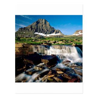 Park Glacier Montana Postcard