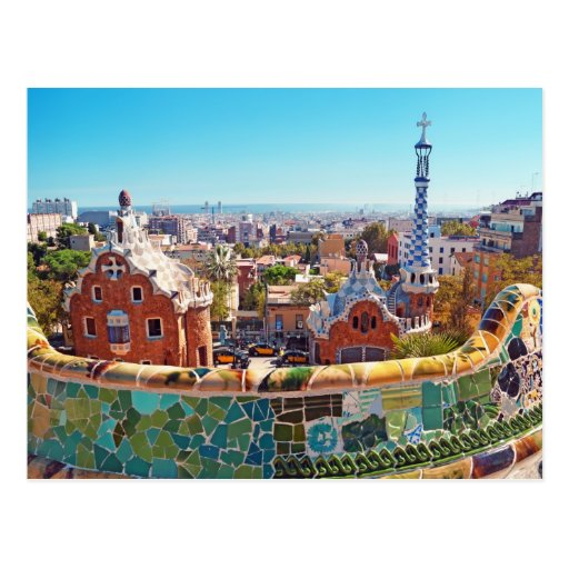 Park Guell, Barcelona - Spain Post Cards