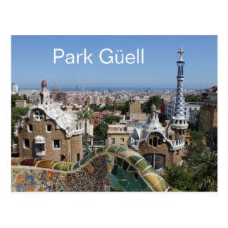 Park Güell, Barcelona, Spain Postcard