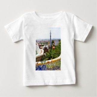Park Guell in Barcelona, Spain Baby T-Shirt