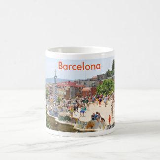 Park Guell in Barcelona, Spain Coffee Mug