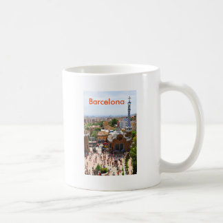 Park Guell in Barcelona, Spain Coffee Mug