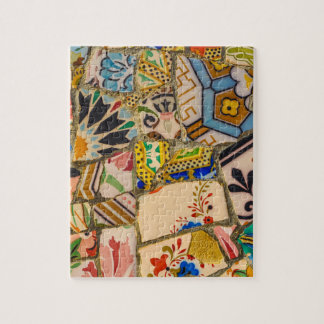 Park Guell in Barcelona Spain Jigsaw Puzzle