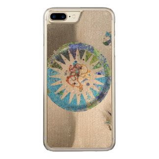 Park Guell mosaics Carved iPhone 7 Plus Case
