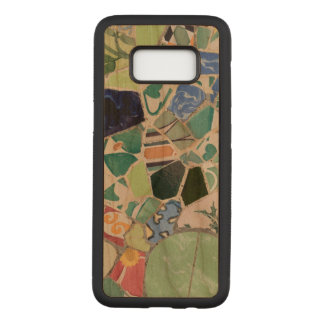 Park Guell mosaics Carved Samsung Galaxy S8 Case