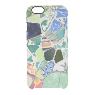 Park Guell mosaics Clear iPhone 6/6S Case