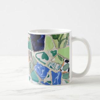 Park Guell mosaics Coffee Mug