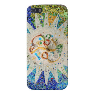 Park Guell mosaics iphone case iPhone 5 Cases