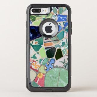 Park Guell mosaics OtterBox Commuter iPhone 8 Plus/7 Plus Case