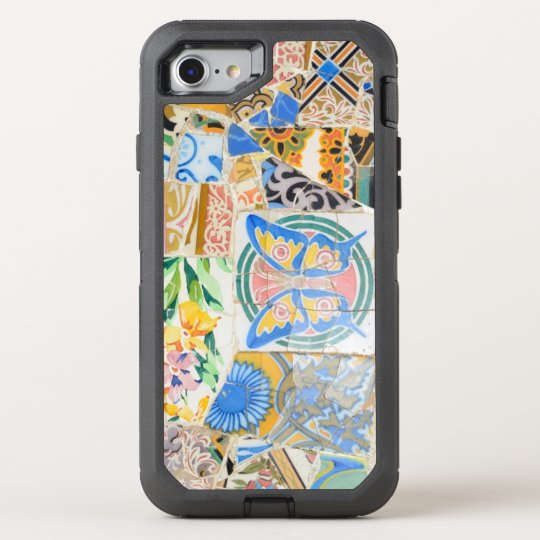 Park Guell mosaics OtterBox Defender iPhone 8/7 Case