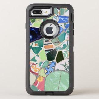 Park Guell mosaics OtterBox Defender iPhone 8 Plus/7 Plus Case