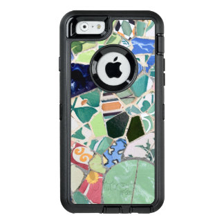 Park Guell mosaics OtterBox Defender iPhone Case