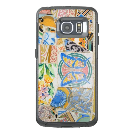 Park Guell mosaics OtterBox Samsung Galaxy S6 Edge Case