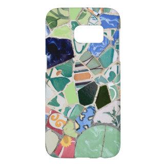 Park Guell mosaics Samsung Galaxy S7 Case
