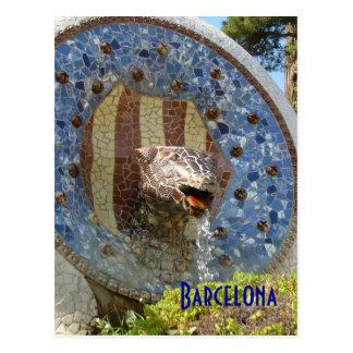 Park Guell Postcard