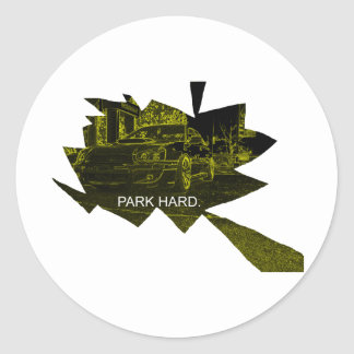 Park Hard Stickers