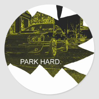 Park Hard Stickers