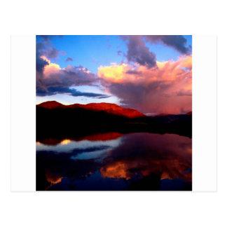 Park High Above Elbert Colorado Postcard