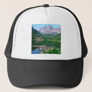 Park Maroon Bells White River Colorado Trucker Hat