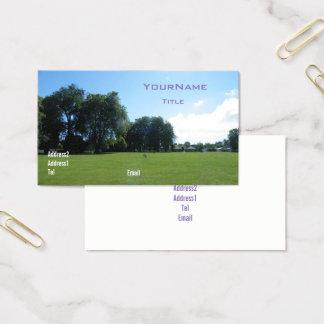 Park of Summer Park summer Business Card