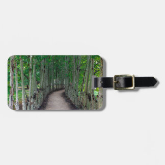 Park Path Luggage Tag