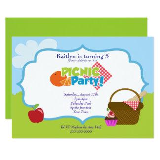 Park Picnic Party Card
