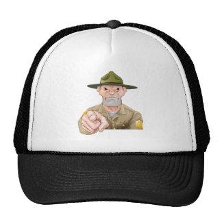 Park Ranger Pointing Trucker Hat