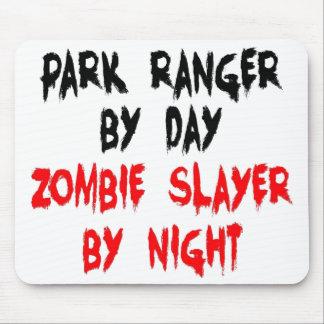 Park Ranger Zombie Slayer Mouse Pad