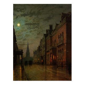 Park Row, Leeds by John Atkinson Grimshaw Postcard