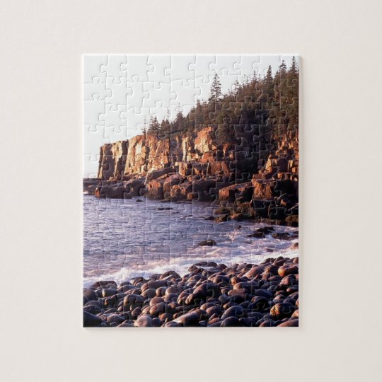 Park Sunrise At Otteracadia Maine Jigsaw Puzzle