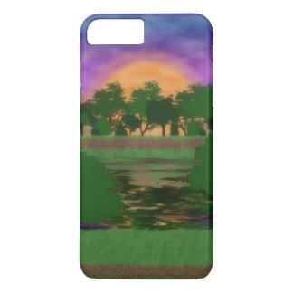 Park Sunset iPhone 7 Plus Case